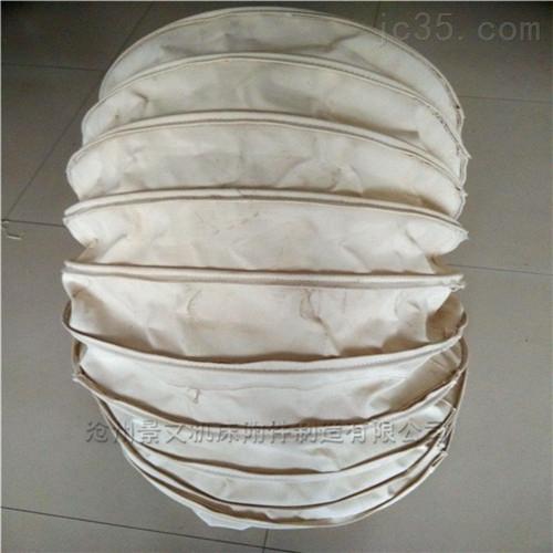 涂胶帆布颗粒输送软连接的作用