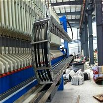莱芜电厂线缆保护桥式钢铝拖链价格