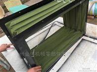 耐酸碱耐温帆布伸缩防火除尘软连接