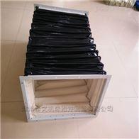 60矩形法蘭不銹鋼通風口軟連接批發價