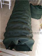 绿色帆布颗粒输送软连接特点及性能