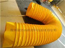 绿色耐磨帆布粉尘输送软连接厂家定做价