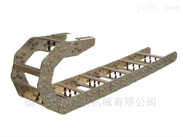 机床桥式钢铝拖链