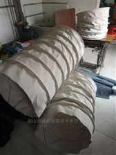 55散装机下料口帆布除尘伸缩布袋