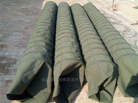 吊环式帆布耐磨卸料口输送布袋