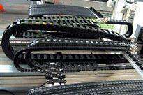 聊城雕刻机穿线电缆拖链