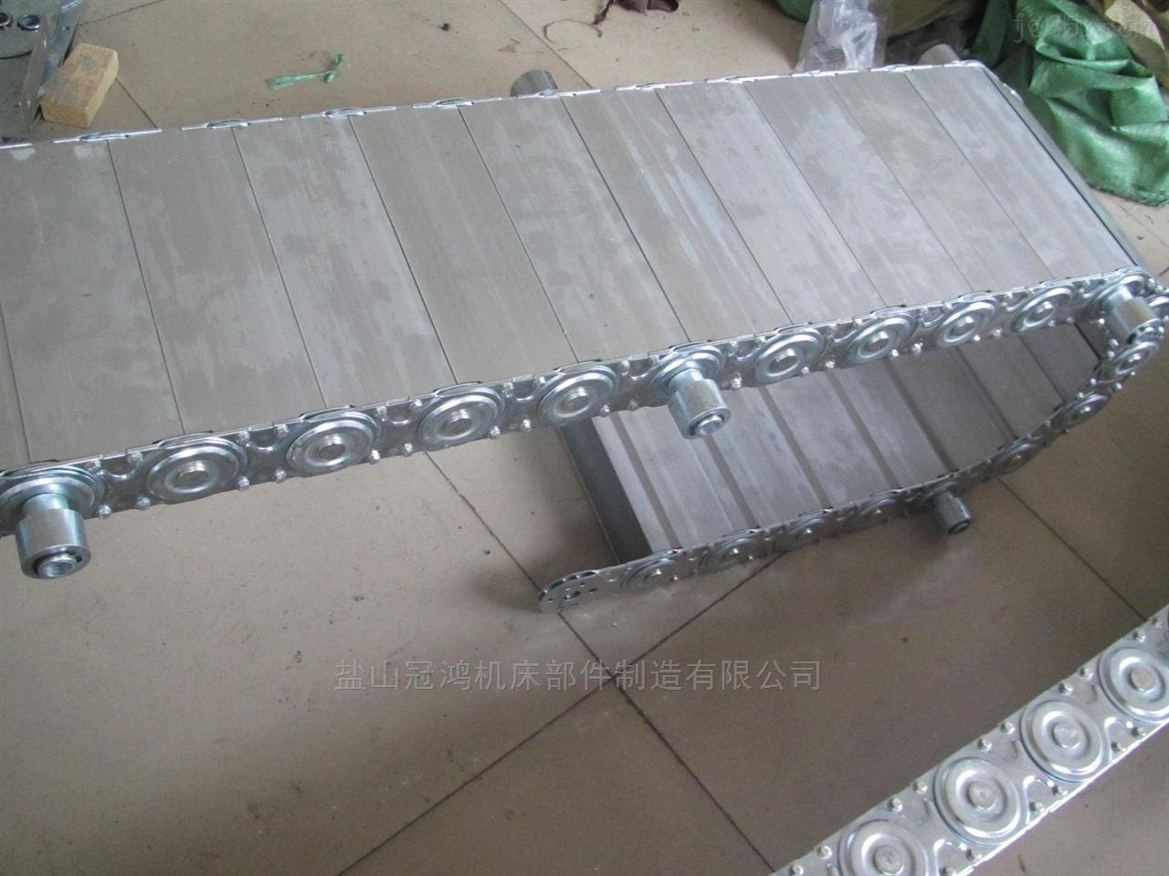 钻井平台钢制拖链坦克链