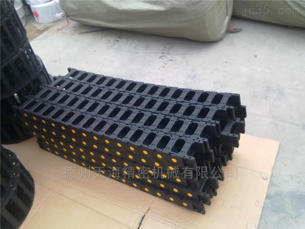 耐磨工程塑料拖链生产厂家直销