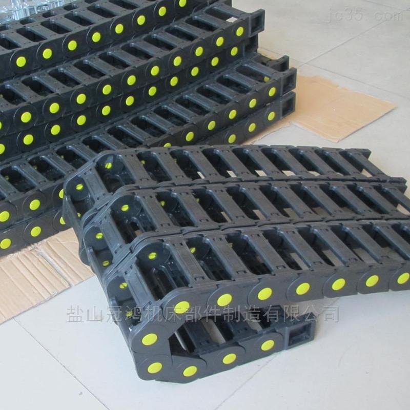 济南开料机穿线工程塑料拖链