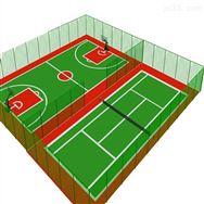 篮球场护栏 球场围网