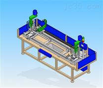 高速全自动4轴长度可调型自动钻孔机