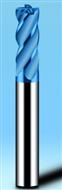 HRC65°蓝色涂层铣刀