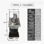 TBR90-3~10比高精度单级直齿行星减速机
