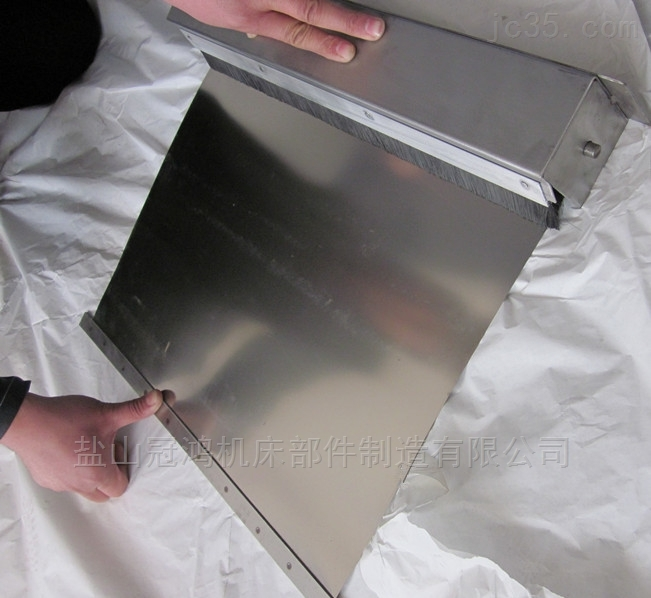 长春不锈钢带伸缩卷帘防尘罩
