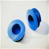 Φ60镀锌钢管保护帽 无缝钢管塑料管堵