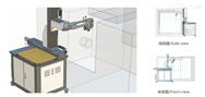 自动化系统置于数控车床前面