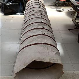 水泥散裝頭伸縮耐磨帆布布袋廠家