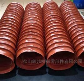 阻燃负压风机耐高温硅胶布软连接厂家