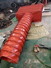 防火帆布排烟500度伸缩节