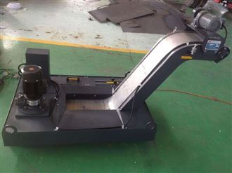 厂家定制磁性板式排屑机
