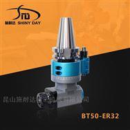 国产轻型BT50-ER32角度头 加工中心侧铣头