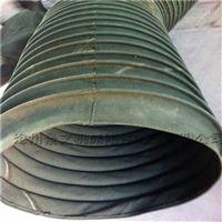 圆形钢丝骨架帆布除尘软管厂家报价