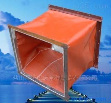 耐高温硅钛布风机软连接