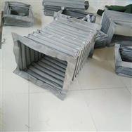 耐高溫方形通風輸送伸縮軟連接