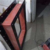 高温锅炉阻燃材质风机伸缩帆布软连接