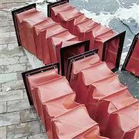 生产供应帆布风道口软连接