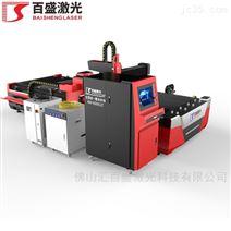 百盛激光敞开式单平台激光切割机板管一体机
