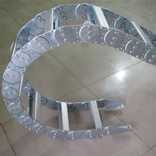 机械设备保护电缆钢制拖链槽链条生产厂家