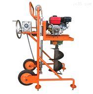 广东园林花圃果园汽油机地钻小型挖坑机