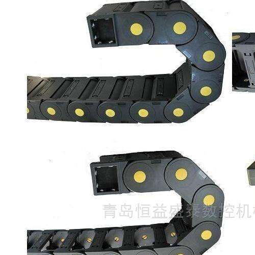 供应机械手穿线塑料拖链坦克链电缆尼龙拖链