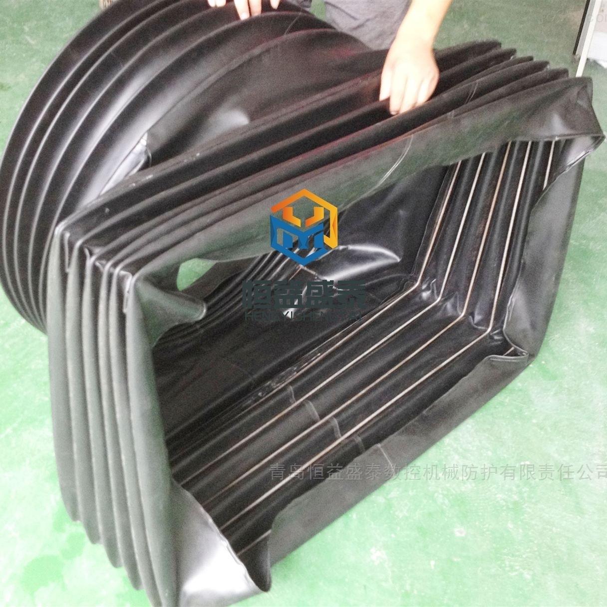 耐高温方形帆布软连接