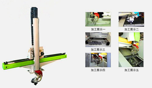 提质、增效、降本 嘉力机械上下冷笑一声料机械手助力机床生产升级