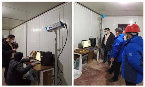 2月9日中央电视台《焦点访谈》访谈武汉雷神山医院建设者 华中数控红外人体测温设备大显身手