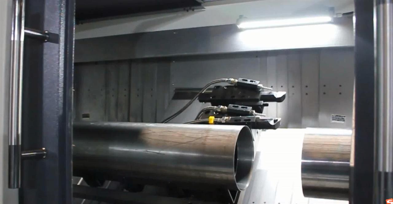 中智鲸工双面车:高速切削加工机床