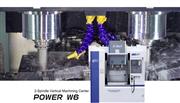 震环机床:双主轴、双刀库 Power W6一台顶两台