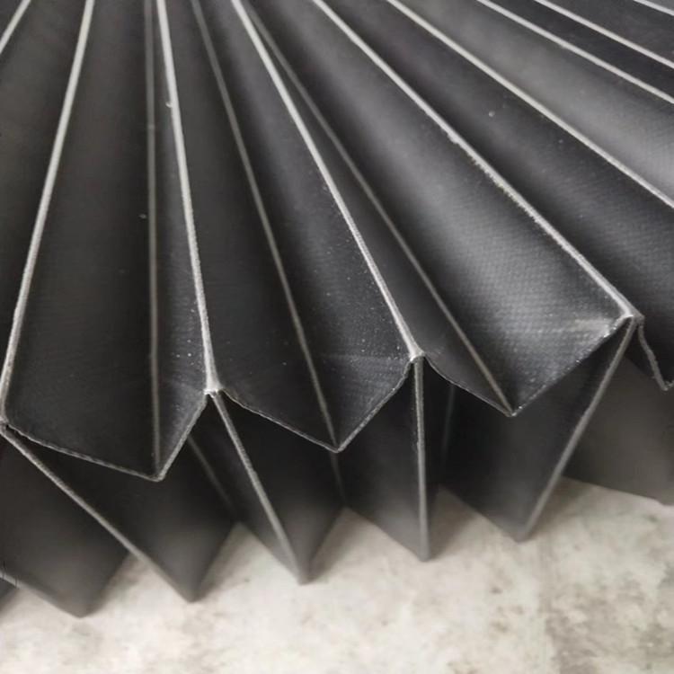 雕刻机风琴防护罩防尘效果